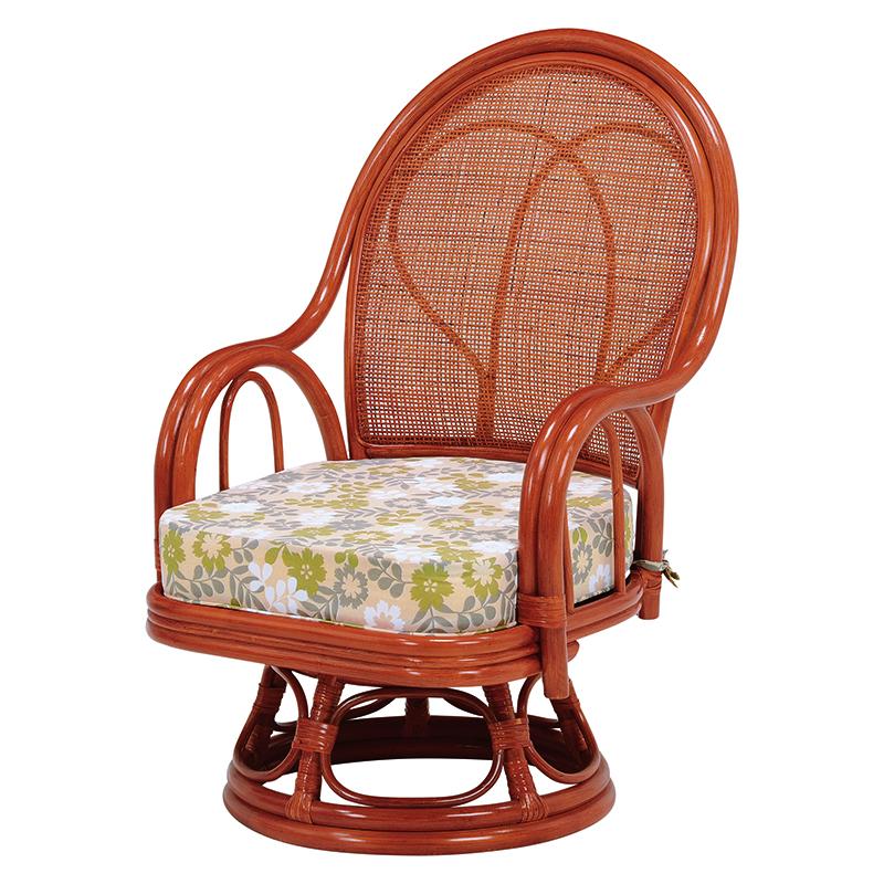 送料無料 イス 回転座椅子【2個セット】 椅子 肘掛け チェア 和室 いす 旅館【RZ-038M】
