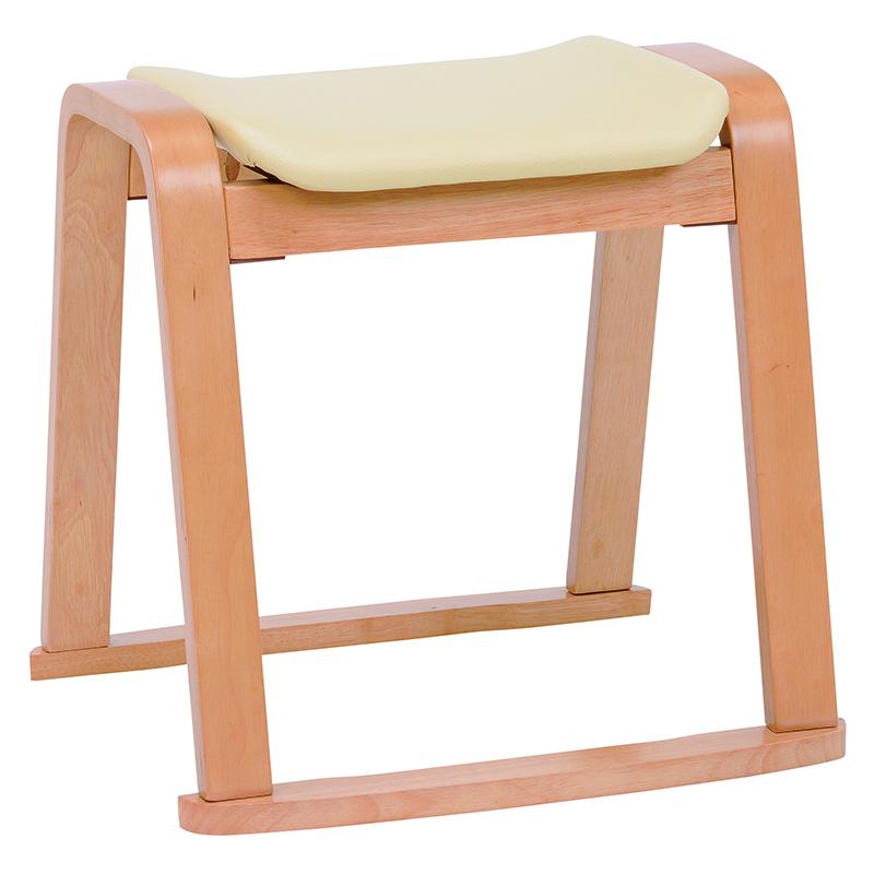 送料無料 スツール スタッキングスツール【2個セット】 和室 補助席 子供 チェア 玄関 コンパクト ナチュラル 椅子 補助いす 省スペース【VH-7931NA】