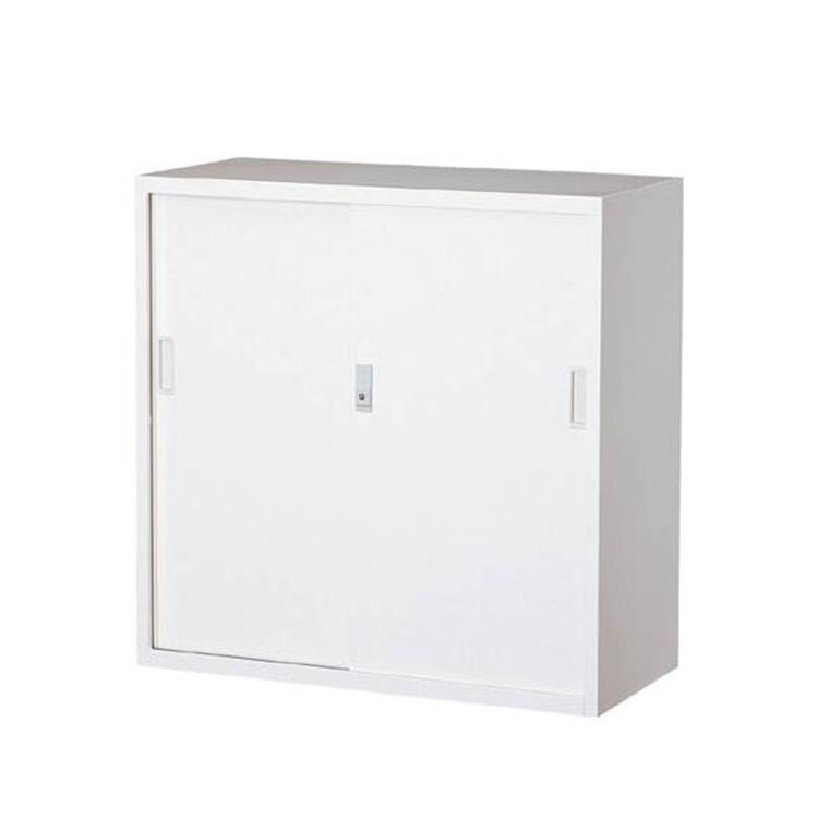 スチール戸引違書庫 303D-AW 完成品 鍵付 新品 ホワイト ALPS W880×D400×H880 TRUSCO