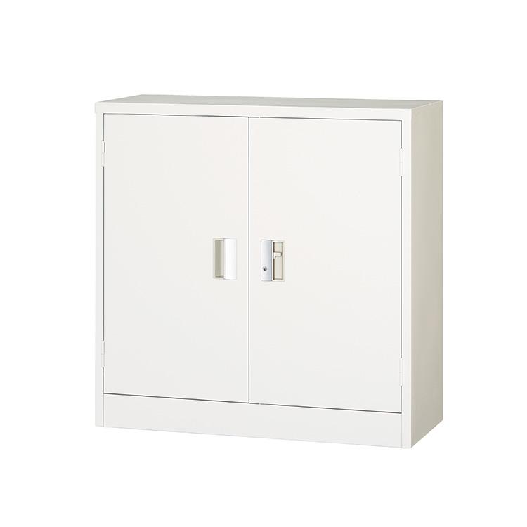 スチール戸両開き書庫 303-AW 完成品 鍵付 新品 ホワイト アルプススチール W880×D400×H880 TRUSCO