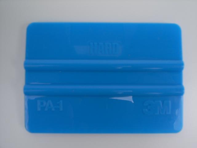 3M製 宅配便送料無料 貼付道具 スキージ ブルーPA-1 ハードタイプ 1個 73mmx105mm ソフトタイプ スタンダードタイプ 爆買い送料無料 プラスチック製
