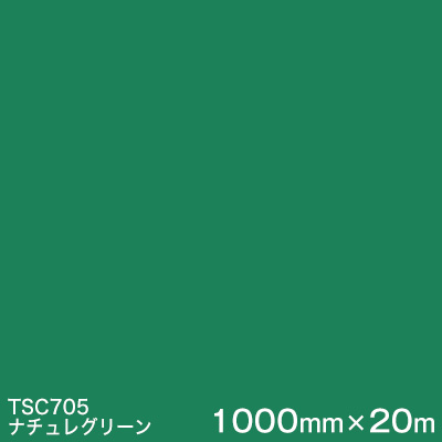 TSC705 (ナチュレグリーン) <3M><スコッチカル>フィルムJシリーズ (透過)スリーエム製 屋外内照式看板 マーキングフィルム カッティング用シート 1000mm巾×20m 1本 【あす楽対応】