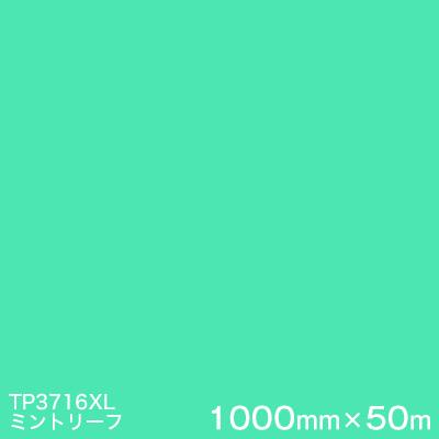 超特価SALE開催! 屋外内照式看板 :ハロー工房 XLシリーズ(透過) (原反1本)  1000mm巾×50m   カッティング用シート  (ミントリーフ) TP3716XL <3M><スコッチカル>フィルム-DIY・工具