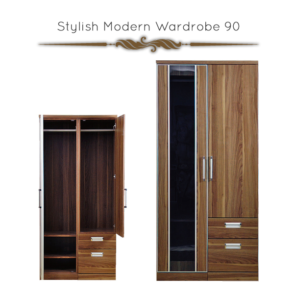 Exceptional Hanging Wardrobe Western Wardrobe Closet Fashionable Wooden Chest Of  Drawers Width 90 Clothes Japanese Style