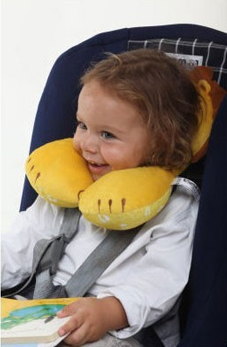 旅行支援頭枕枕嬰兒枕