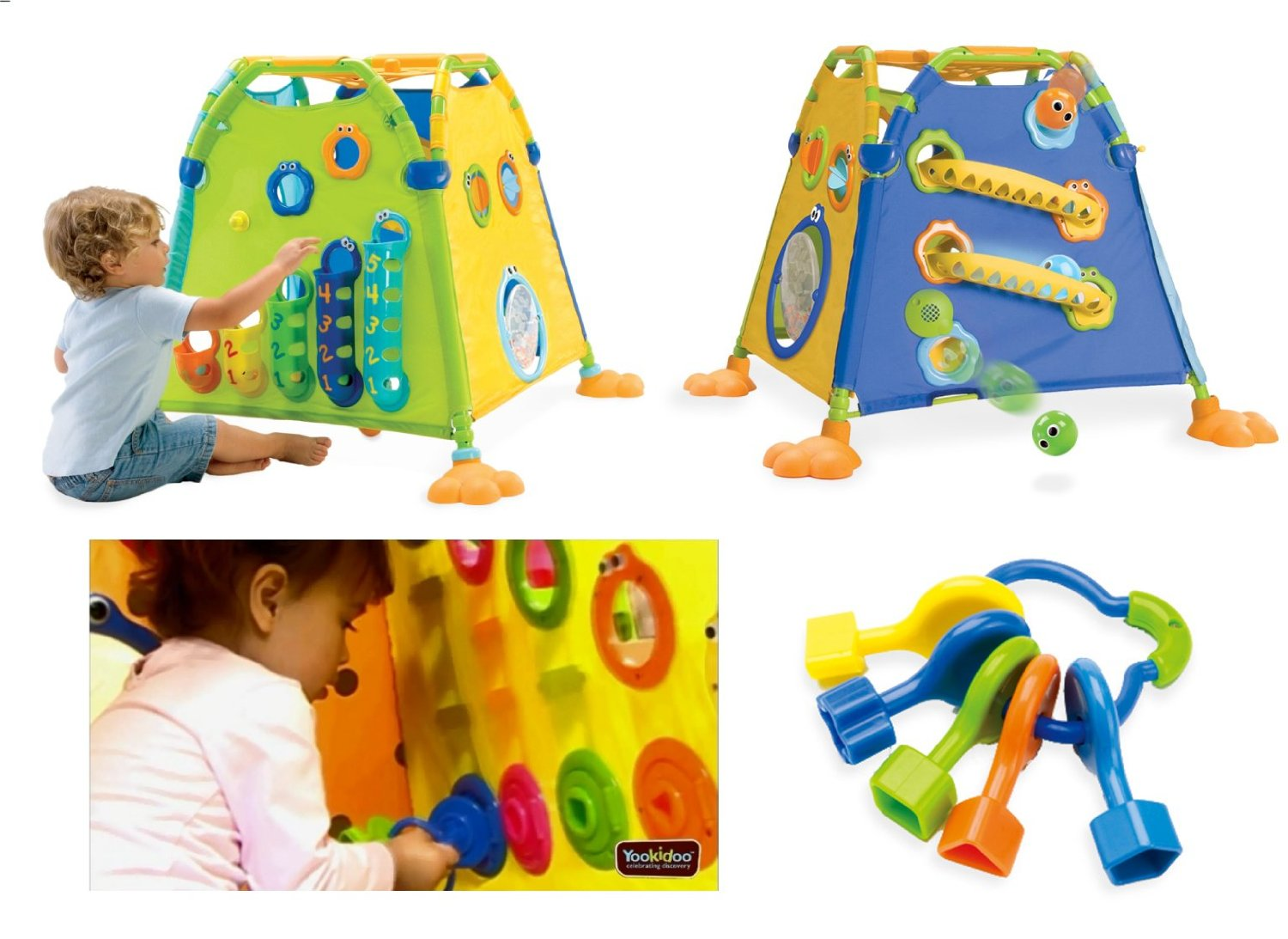 Full play tent (Discovery playhouse) pleasing from a you kid from the outside  sc 1 st  Rakuten & 365days | Rakuten Global Market: Full play tent (Discovery ...