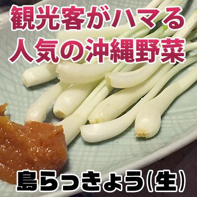 【楽天市場】島らっきょう(生)200g【送料無料】洗ってすぐ ...
