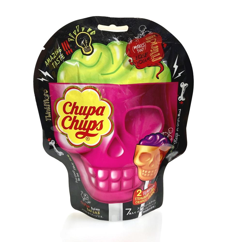 今年は2種の詰め合わせ Halloween 2021 チュッパチャプス スカル3D 15gx7本入 ハロウィン 定番 大袋 個包装 配る お菓子 人気 激安卸販売新品 驚きの価格が実現