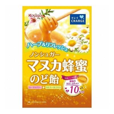 春日井 ノンシュガーマヌカ蜂蜜のど飴 70g 72コ入り (4901326035553c)