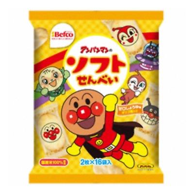 栗山米菓 贈答品 アンパンマンのソフトせんべい 2枚×16袋 4901336110530 12コ入り 人気急上昇