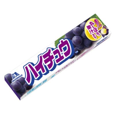 森永製菓 ハイチュウ〈グレープ〉 12粒 144コ入り (4902888116322c)
