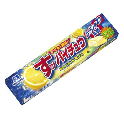 森永製菓 すッパイチュウ〈レモン味〉 12粒 144コ入り (4902888200939c)