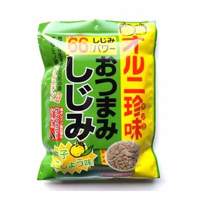 森田製菓 登場大人気アイテム 人気の製品 おつまみしじみ柚子こしょう 67g 4964888901643c 30コ入り