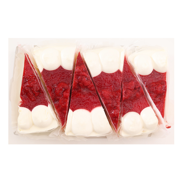 地域限定送料無料(※北海道・沖縄・一部離島等除く) (地域限定送料無料)業務用 (単品) ベルリーベ いちごのケーキ 6P 4袋(計24個)(冷凍)(760619000sx4k)