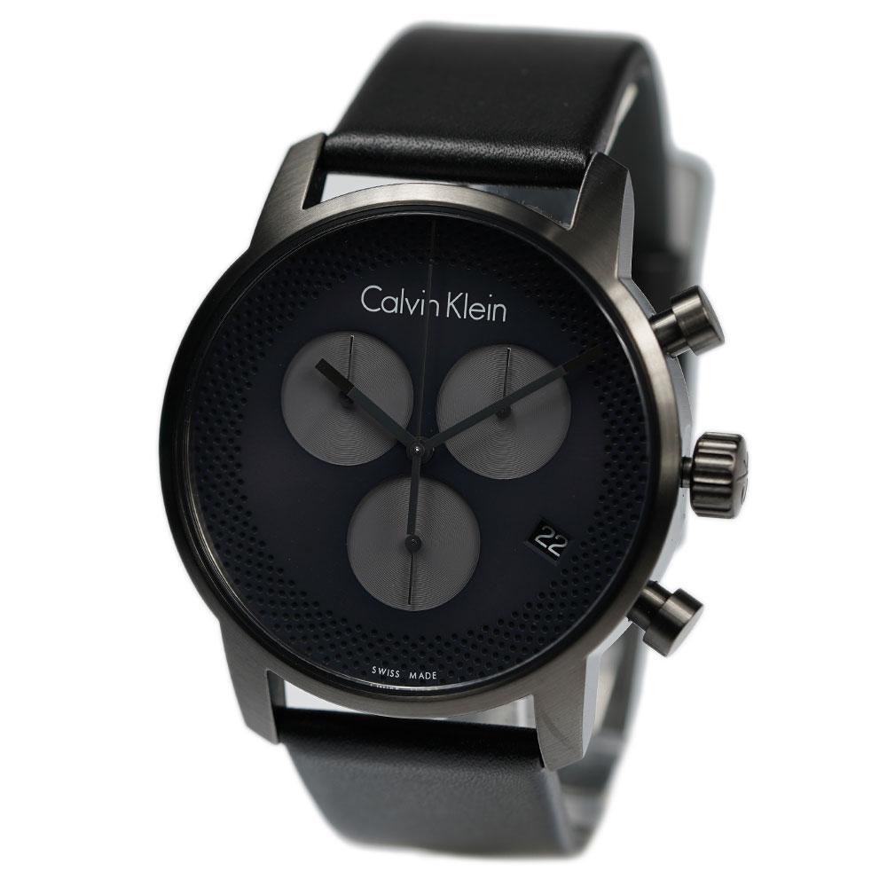 ck Calvin Klein 日本産 カルバンクライン メンズ腕時計 K2G177C3 クロノグラフ メンズ ディスカウント シティ 腕時計 Chronograph City