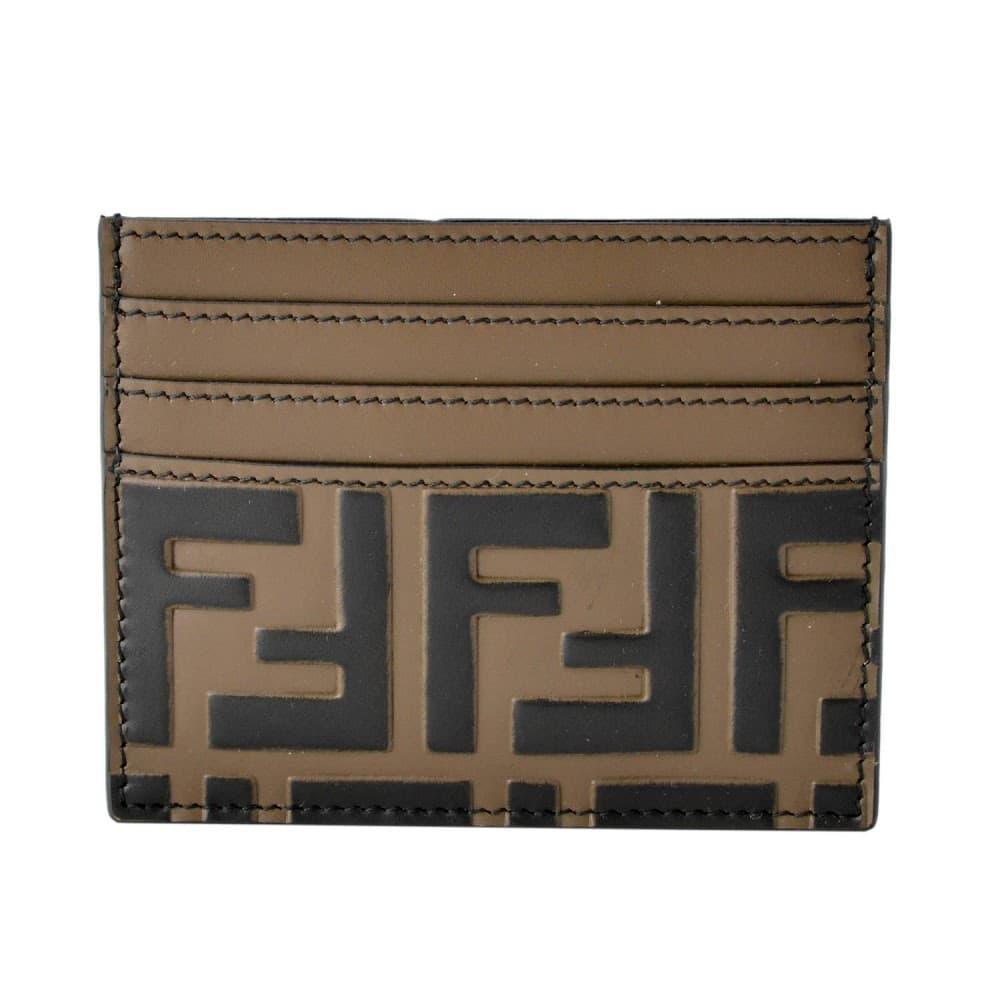 フェンディ カードケース FENDI FFロゴ エンボス 7M0164-A42P-F0H3C