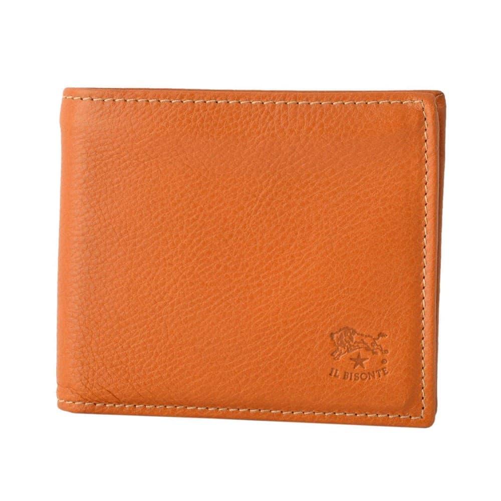 イルビゾンテ 財布 IL BISONTE Caramel 小銭入れ付 二つ折り財布 C0817-P-145