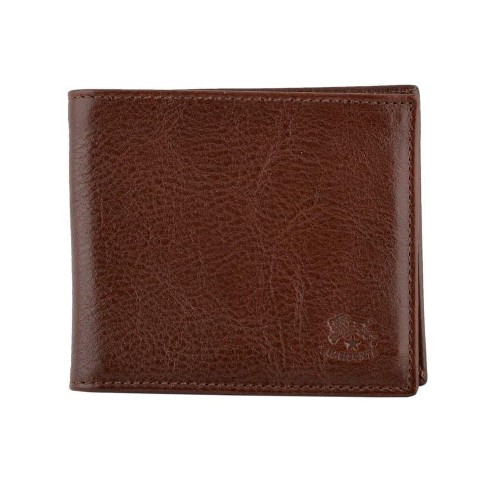 イルビゾンテ 財布 IL BISONTE Brown 二つ折り財布 小銭入れ無し C0437-869