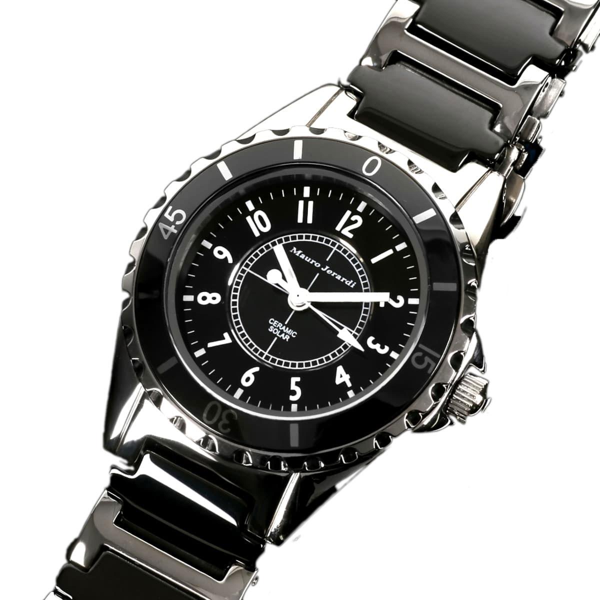 マウロジェラルディ 腕時計 レディース Mauro Jerardi ソーラー MJ042-1
