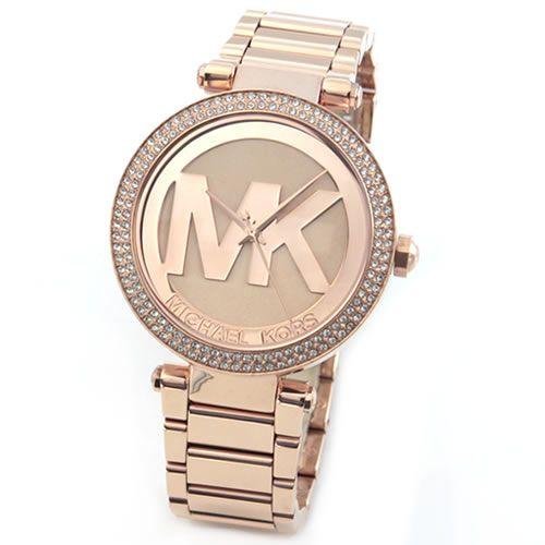 マイケルコース 腕時計 レディース MICHAEL KORS ラインストーン ブレスウオッチ MK5865