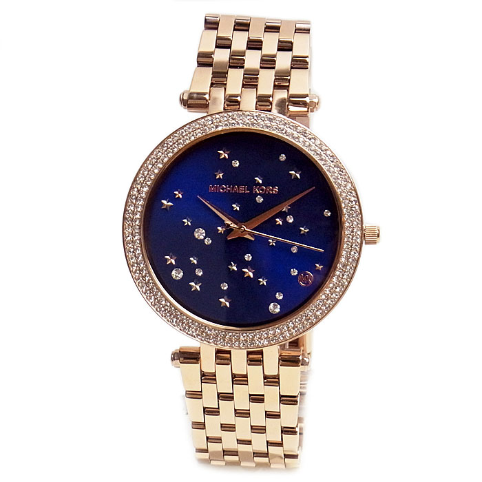 513a603294d0 ... 腕時計   財布   ペアリング   ペアウォッチ   ペアブレスレット   マイケルコース 腕時計 レディース MICHAEL KORS  Darci Star ダーシー スター MK3728 時計