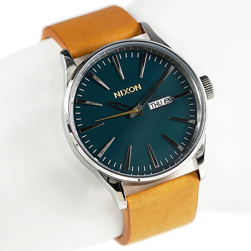 ニクソン 腕時計 メンズ NIXON セントリーレザー Sentry Leather 男性用 A105-2535
