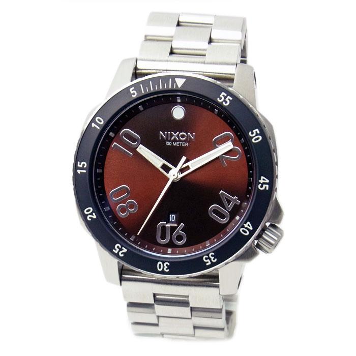ニクソン 腕時計 メンズ NIXON RANGER レンジャー ブラウン/サンレイ A5062097 A506-2097