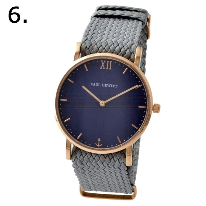 1fd023d09698 商品名 ポールヒューイット レディース腕時計 セラーライン ナイロンメッシュベルト ローズゴールド 36mm □サイズ ケースサイズ:H約36mm x  W約36mm x D約7mm