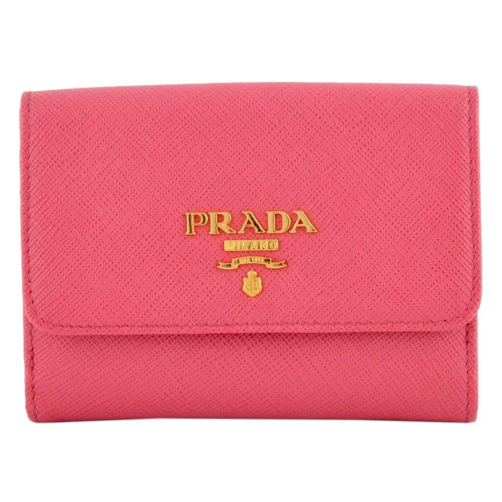 プラダ 財布 PRADA サフィアーノレザー 二つ折り財布 1MH523-QWA-505