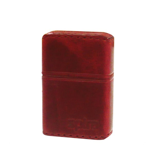 スパイラ ライター spira バッテリーライター 革巻き SPIRA-604RD アーマー カワマキ レッド