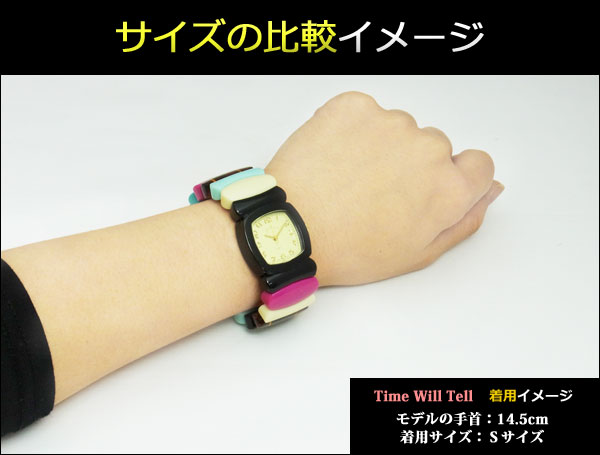 Time Will Tell thyme Teru Will (thyme Teru Will) watch Solid Colors toe TASS (tortoiseshell) pattern bangle breath watch Solid-TO (W) 02P12Oct15 Mother's Day gift in return brand