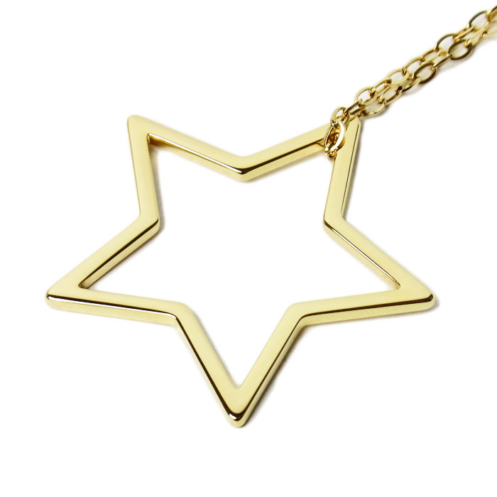 トミーヒルフィガー ネックレス ユニセックス TOMMY HILFIGER 2700851 スター 星モチーフ ゴールド