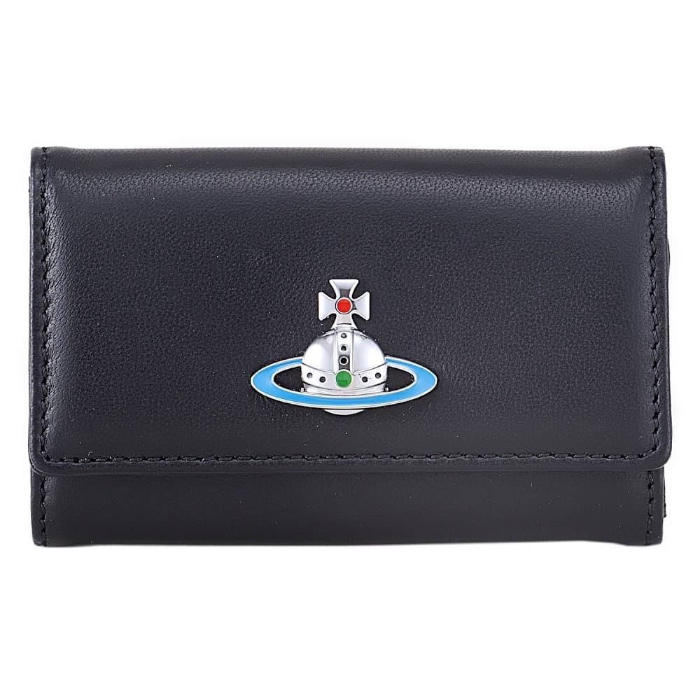 ヴィヴィアンウエストウッド キーケース Vivienne Westwood BLACK 4連 DERBY KEY CASE 51020001-40564-N409