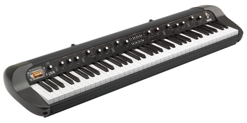 *【送料無料!】【代引不可】【KORG(コルグ)】【シンセサイザー】コルグ ステージ ビンテージ ピアノ 73鍵盤モデル  SV-1-73-BK【smtb-k】【ky】
