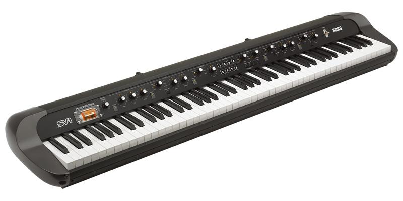*【送料無料!】【代引不可】【KORG(コルグ)】【シンセサイザー】コルグ ステージ・ビンテージ・ピアノ 88鍵盤モデル  SV-1-88-BK【smtb-k】【ky】