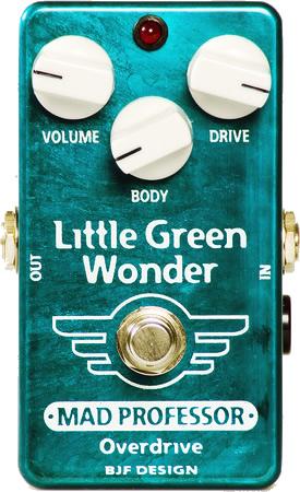 【送料無料!】【MAD PROFESSOR】【エフェクター】オーバードライブ Little Green Wonder FAC