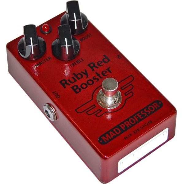 【送料無料!】【MAD PROFESSOR】【エフェクター】ブースター Ruby Red Booster FAC