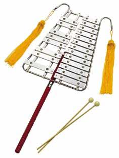 *【送料無料・代引不可】【SUZUKI(鈴木楽器)】【教育楽器】【リラグロッケン】 リラグロッケン(ベルリラ) RG-21