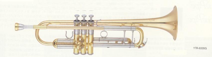 【管楽器】【トランペット】 YAMAHA(ヤマハ) トランペット YTR-8335G【YDKG-k】【ky】