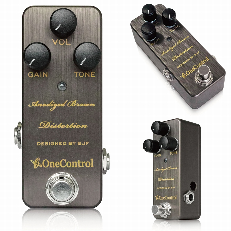 【One Control(ワンコントロール)】【ディストーション】Anodized Brown Distortion  アノダイズドブラウンディストーション