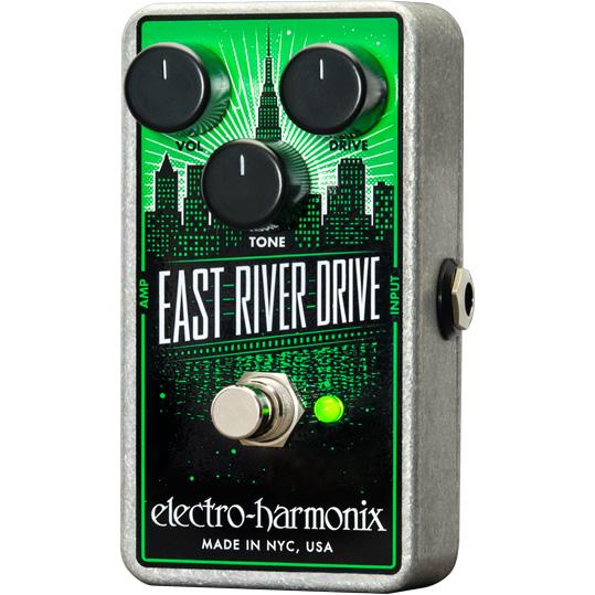 【electro-harmonix】【エフェクター】East River Drive(イーストリバードライブ) オーバードライブ