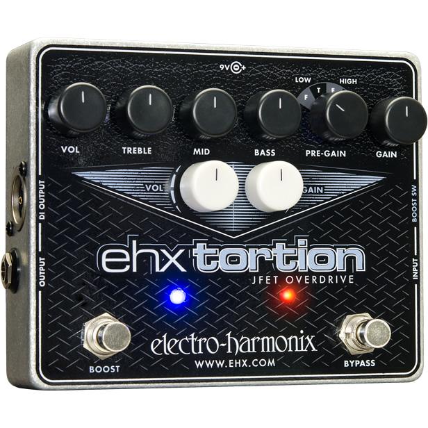 【electro-harmonix】【エフェクター】EHX Tortion(EHXトーション) オーバードライブ/ディストーション
