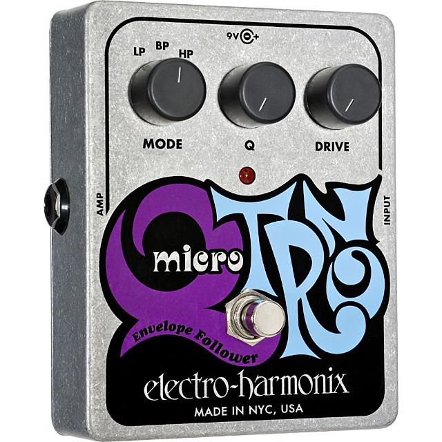 【electro-harmonix】【エフェクター】Micro Q-Tron(マイクロキュートロン) エンベロープ・フィルター