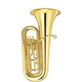 【代引不可】【管楽器】【YAMAHA(ヤマハ)】B♭チューバYBB-105