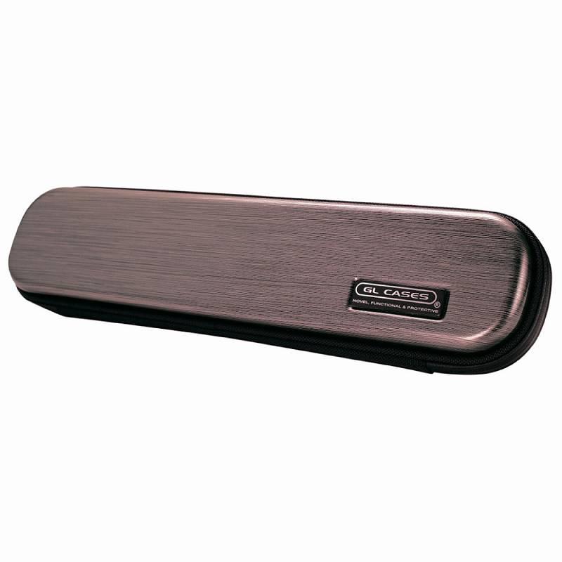 【送料無料!】【GL CASES】フルート用ABS樹脂製ハードケース GLE-FL(L23)BURGUNDY/メタリックバーガンディ