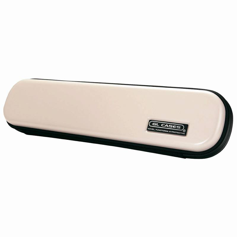 【送料無料!】【GL CASES】フルート用ABS樹脂製ハードケース GLE-FL(58)WHITE/ホワイト