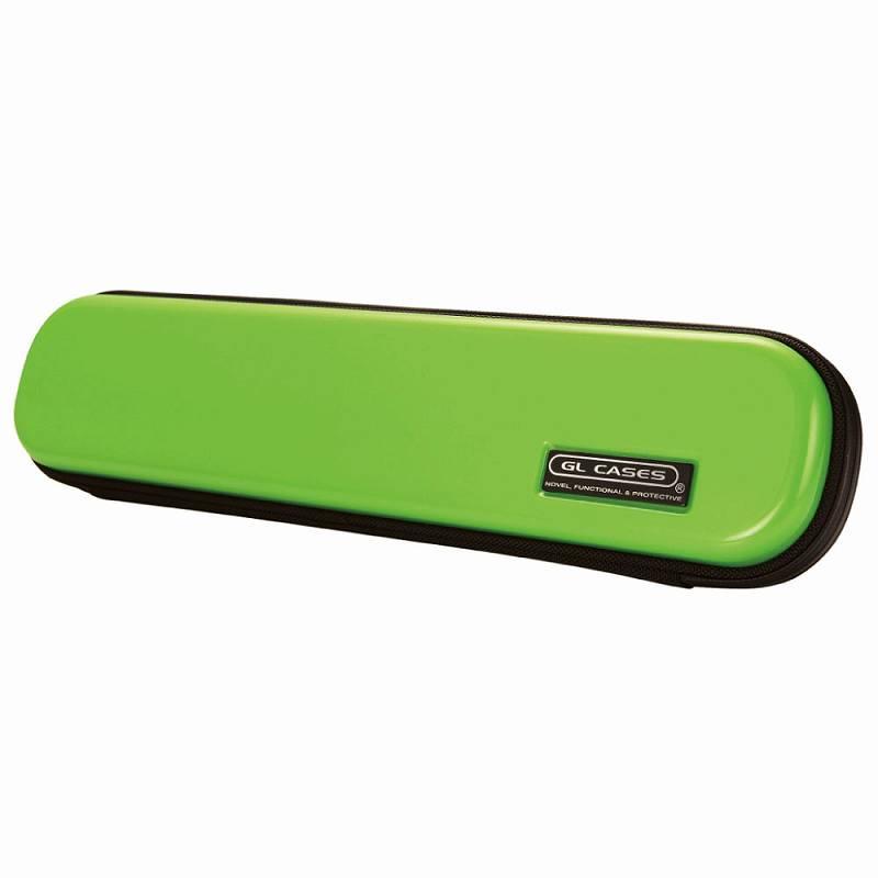 【送料無料!】【GL CASES】フルート用ABS樹脂製ハードケース GLE-FL(96)GREEN/グリーン
