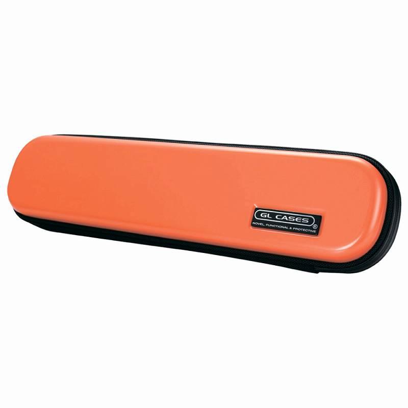 【送料無料!】【GL CASES】フルート用ABS樹脂製ハードケース GLE-FL(13)ORANGE/オレンジ
