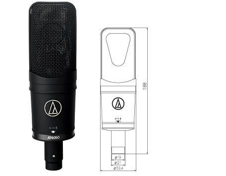 【audio-technica(オーディオテクニカ)】【コンデンサーマイク】AT4050