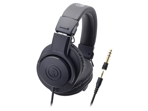 *【audio-technica.(オーディオテクニカ)】ヘッドホン ATH-M20x